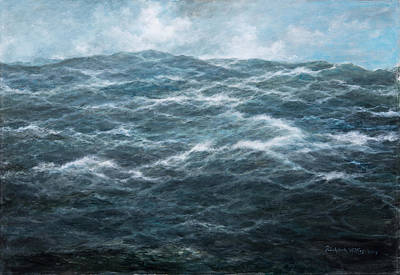 Turbulent Skies Painting - Mid Atlantic by Richard Willis