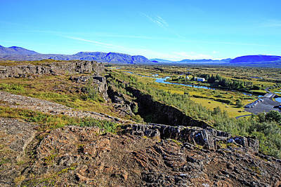 Photograph - Mid-atlantic Rise In Thingvellir, Iceland by Allan Levin