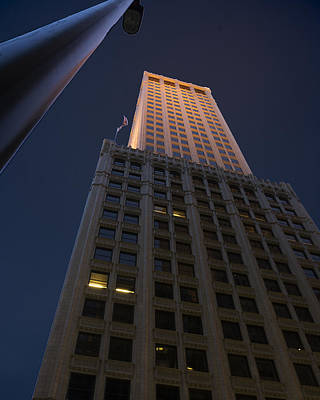 Tulsa Oklahoma. Architecture Photograph - Mid-continent Tower by William Oswald