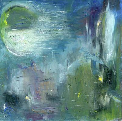 Mid-day Reflection Art Print by Michal Mitak Mahgerefteh