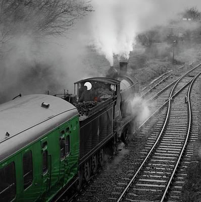 Mid Hants Railway ,hampshire, England. Art Print