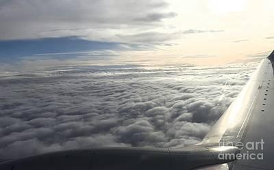 Photograph - Mid Heaven Flight by Lani PVG  Richmond