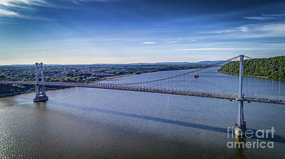 Photograph - Mid-hudson Bridge In Spring by Joe Santacroce