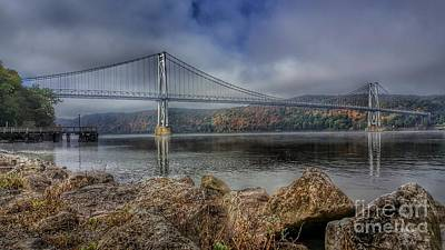 Photograph - Mid Hudson Bridge by Scott Harrison