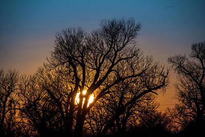 Photograph - Mid March Nebraska Sunset 003 by NebraskaSC