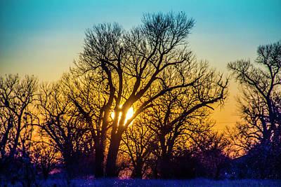 Photograph - Mid March Nebraska Sunset 004 by NebraskaSC