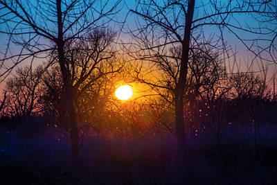 Photograph - Mid March Nebraska Sunset 006 by NebraskaSC