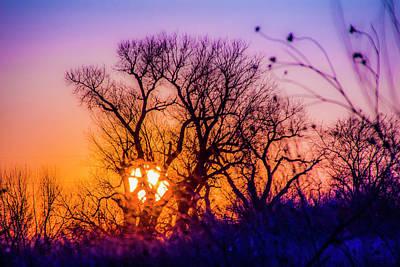 Photograph - Mid March Nebraska Sunset 007 by NebraskaSC