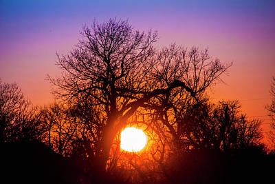 Photograph - Mid March Nebraska Sunset 008 by NebraskaSC
