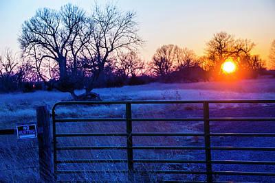 Photograph - Mid March Nebraska Sunset 009 by NebraskaSC