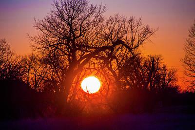 Photograph - Mid March Nebraska Sunset 010 by NebraskaSC