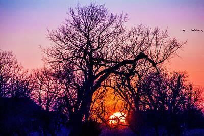 Photograph - Mid March Nebraska Sunset 014 by NebraskaSC