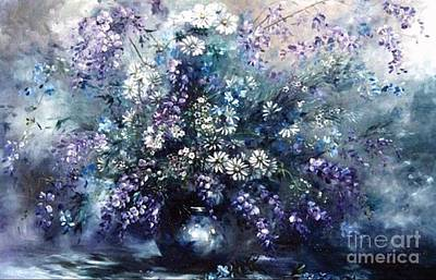 Painting - Mid Spring Blooms by Ryn Shell