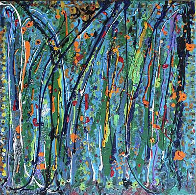 Wall Art - Painting - Mid-summer Night's Dream by Pam Roth O'Mara