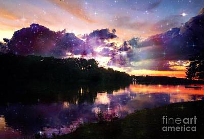 Photograph - Mid Summer River Sunset by Justin Moore