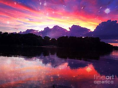 Photograph - Mid Summer Sunset by Justin Moore