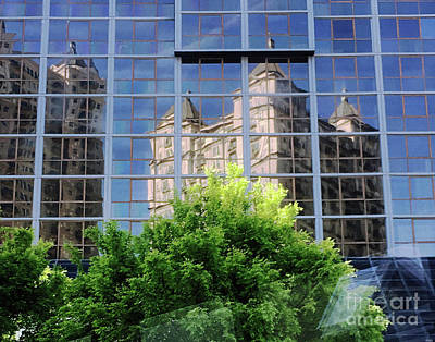 Photograph - Mid-town Atlanta Ga by Lizi Beard-Ward