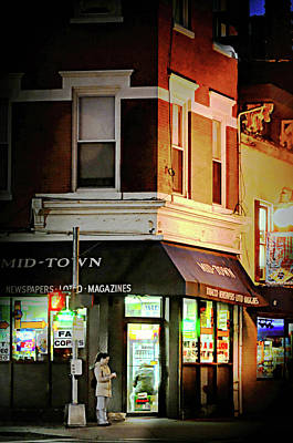 Photograph - Mid-town Deli by Diana Angstadt