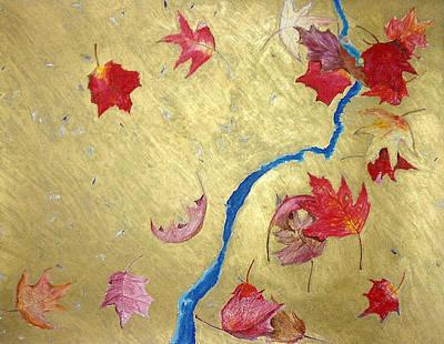 Painting - Midas Fall by Steve Karol
