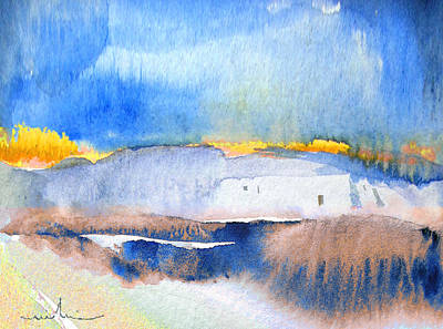 Sand Dunes Painting - Midday 02 by Miki De Goodaboom