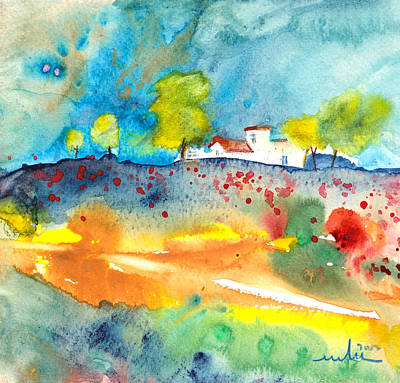 Midday Painting - Midday 37 by Miki De Goodaboom