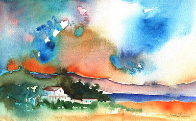 Midday Painting - Midday 39 by Miki De Goodaboom