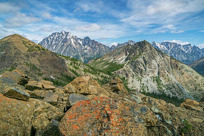 Photograph - Midday At Iron Peak by Ken Stanback