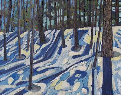 Midday At Jones Creek Art Print by Phil Chadwick
