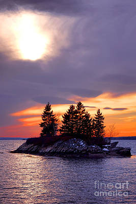Photograph - Middle Bay Island  by Olivier Le Queinec
