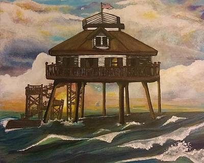 Middle Bay Lighthouse Original by Teresa Hay
