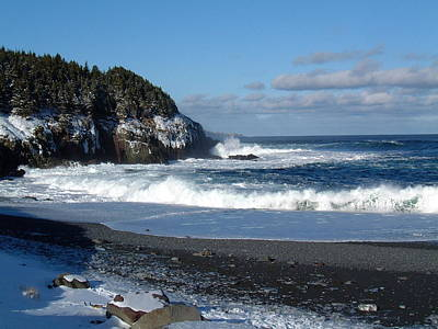 Photograph - Middle Cove Newfoundland by Douglas Pike