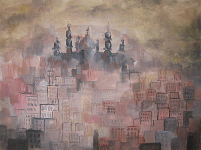 Painting - Middle East by Salwa  Najm