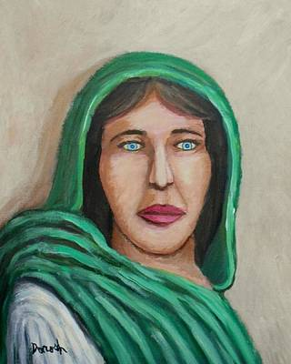 Painting - Middle East Woman by Gregory Dorosh