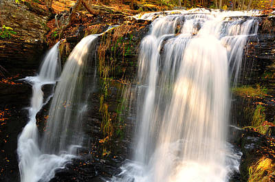 Upper Delaware River Photograph - Middle Fall At Delaware Water Gap by Jay Mudaliar
