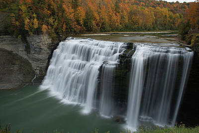 Photograph - Middle Falls by Eric Foltz