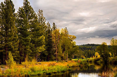 Photograph - Middle Fork by Mick Burkey