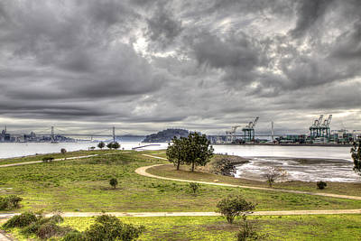 Photograph - Middle Harbor Shoreline Park by SC Heffner