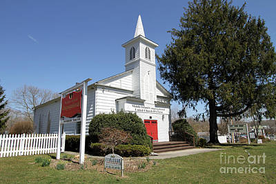 Photograph - Middle Island Congregational United Church Of Christ by Steven Spak