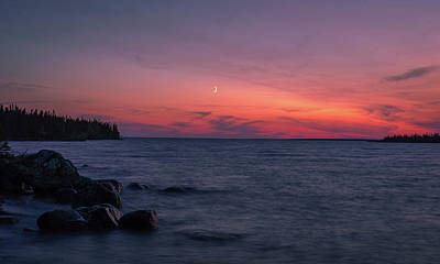 Photograph - Middle Moon by Paki O'Meara
