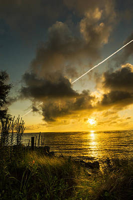 Photograph - Middle Of Summer Sunrise by Chris Bordeleau