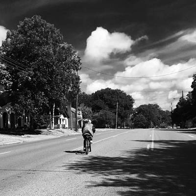 Photograph - Middle Of The Road by Adam Graser