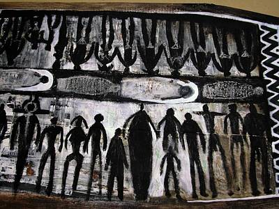 Robert Daniels Mixed Media - Middle Passage by Robert Daniels