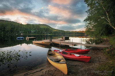 Photograph - Middle Pond Waterford by Darylann Leonard Photography