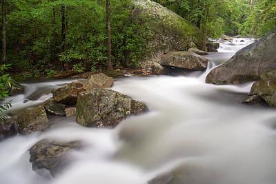 Saluda Photograph - Middle Saluda River by Derek Thornton