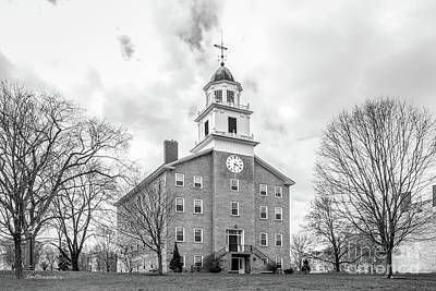 Diploma Photograph - Middlebury College Old Chapel by University Icons