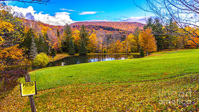 Photograph - Middlesex Vermont by Scenic Vermont Photography