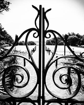 Photograph - Middleton Gates by Alan Raasch