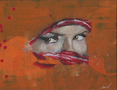 Mideast Painting - Mideast Girl by Saeid Art