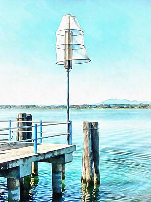 Photograph - Midge Catching Tofo Lamp Trap by Dorothy Berry-Lound