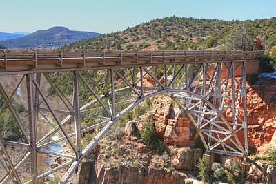Oak Creek Canyon Photograph - Midgley Bridge 2 by Donna Kennedy